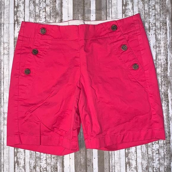 J  Crew pink shorts 0  JCrew
